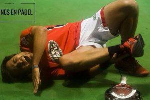 lesiones mas frecuentes en padel