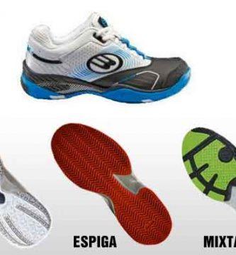 que zapatillas comprar para padel