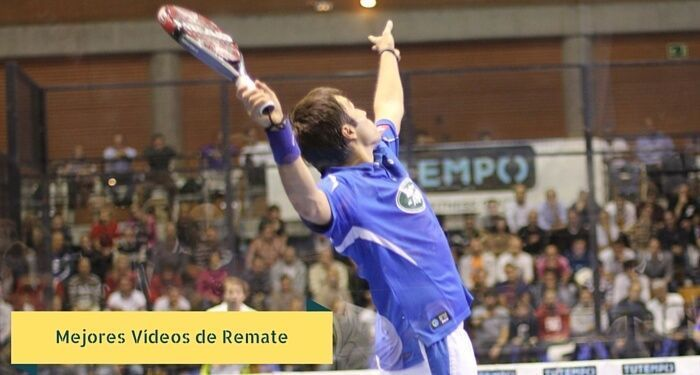 videos de remates en padel