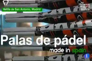 como se fabrican las palas de padel es españa