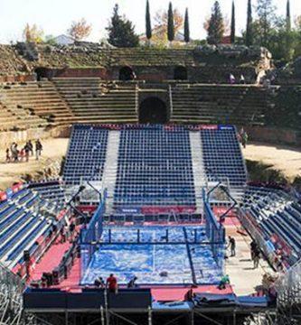 polçemica anfiteatro romano merida