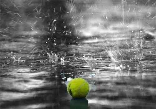 jugar al padel con lluvia