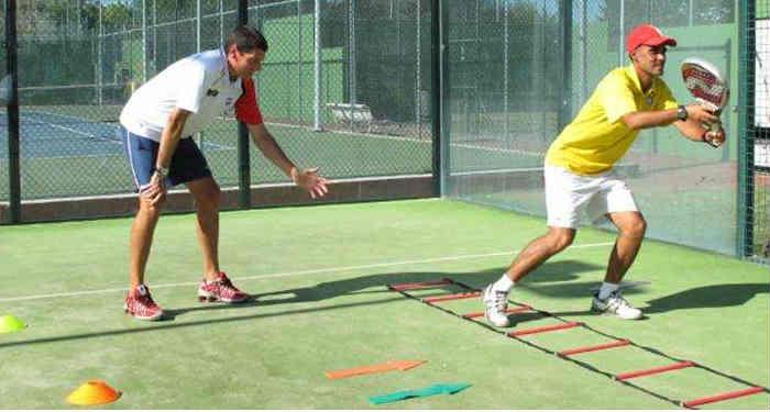 ejercicios para mejorar la condición física en pádel