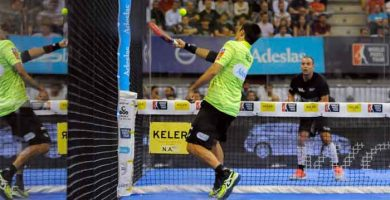 defender smash en padel