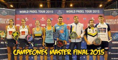 campeones master final 2015