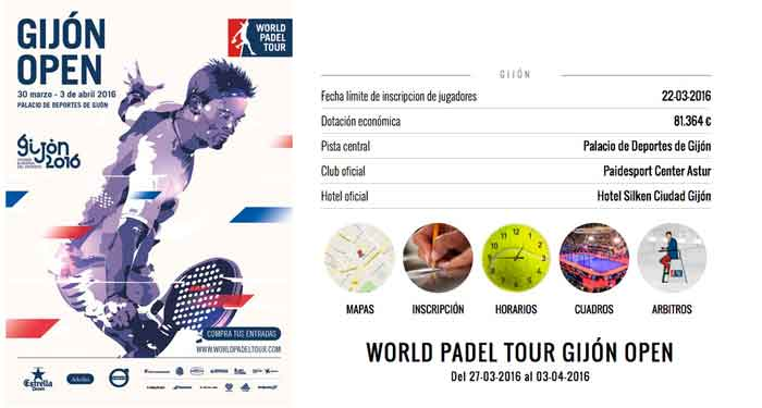 world padel tour Gijon Open 2016