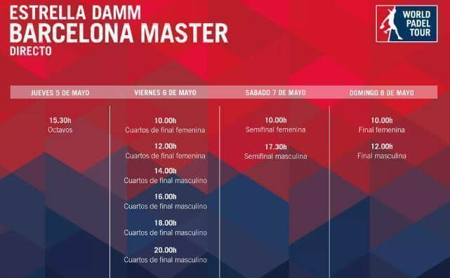 barcelona master en directo