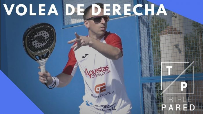 Video Volea Derecha Padel