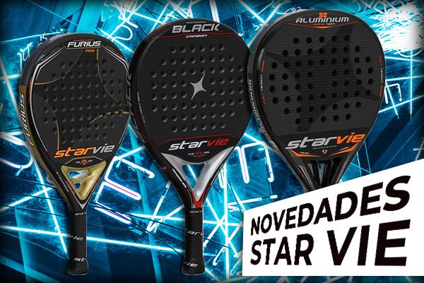 Nuevas palas de padel Star Vie 2020